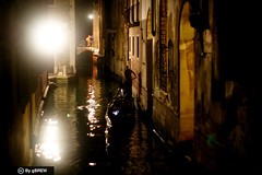 Venice at its most beguiling (Ginger Brew @gbrew) Tags: travel venice italy canal europe italia gondola venezia