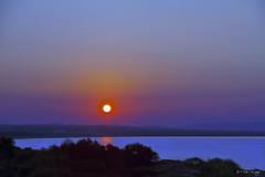 1 Septiembre 2013 (Opera.Pink - d s g n) Tags: sky espaa sun color colour sol beach azul canon andaluca spain plantas rosa colores septiembre amanecer amarillo cielo verano naranja almera sumer rayosdesol surise 2013