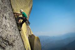 Shitfire (Amicus Telemarkorum) Tags: california summer mountains rock climbing sierranevada 510 rockclimbing lichens theneedles 2013 shitfire jeffrueppelphotography mountainsnaps