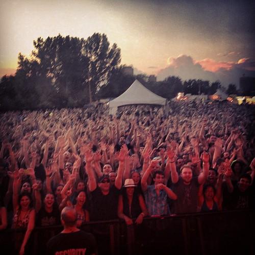 #Ottawabluesfest - Great crowd!