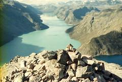 34 Besseggen (M. SCHULZ) Tags: exa 1b canon 9000f kodak farbwelt 400 analog norwegen 35mm besseggen gjende jotunheimen film norway norge ihagee iso analogue