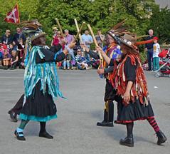 Sowerby Bridge Rushbearing Festival: Stick Dance (Tim Green aka atoach) Tags: bridge festival yorkshire september rush sowerbybridge bearing calderdale sowerby 2013 rushbearing