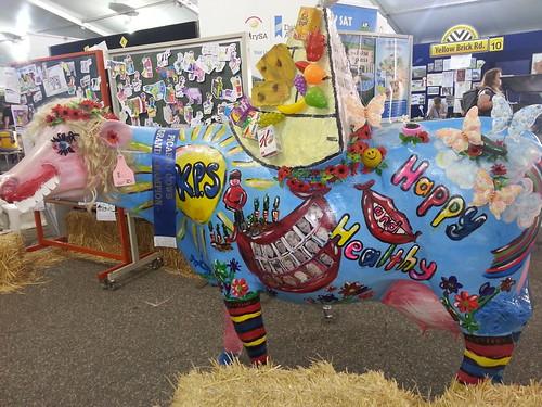 Cardboard Cow @ Royal Adelaide Show