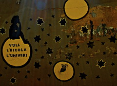 untitled #35 (Dabhaidh Harris) Tags: barcelona school light shadow sun moon luz sol silhouette wall stars photography graffiti star photo flickr thought ray space think dream catalonia luna photograph owl estrellas planet planets catalunya silueta wish rayo universe estrella sunbeam pensar catalan grafit planeta planetas davidharris mussol daveharris rayofsunshine lescola lunivers bho dabhaidh daveharris75hotmailcom daveharris75gmailcom daveharris75 dabhaidhharris