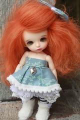 Littles. :3 (Mrsbeccabear) Tags: ball doll tiny bonnie bjd pong fairyland jointed pkf cinnamonpancakes pukifee