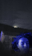 BLACK DOG (Siri Chandra) Tags: blue sky dog moon selfportrait me night poetry poem fullmoon blackdog layers poesia visualpoetry ledzeppelin bluehue ohme poetryandpicturesinternational skypoetry wouldbepoem selfportaittheraphyproject poemspixelsprose selfportraittheraphyproject