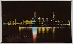 USA Fleet illuminations, Sydney Harbour