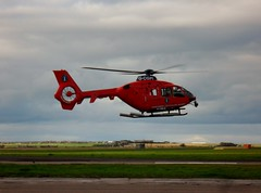 G-CGPI Northern Lighthouse Board EC135 at Wick Airport (terence.stilgoe) Tags: bond ec135 northernlighthouseboard wickairport