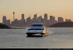 Skyline seen from Watsons Bay, Sydney, Australia (JH_1982) Tags: new travel travelling ferry skyline wales canon eos bay cityscape view south sydney fast australia nsw australien traveling tamron australie watsons 18mm 澳大利亚 シドニー オーストラリア 悉尼 270mm австралия 60d 오스트레일리아 сидней sídney