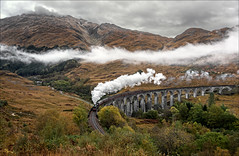 Glenfinnan Viaduct (Kingmoor Klickr) Tags: glenfinnan glenfinnanviaduct harrypotter jkrowling 62005 peppercornk1 westhighland mallaig fortwilliam thejacobite mainlinesteam hogwarts express highlands scotland
