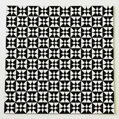ACAD VSCM 101 - Pattern Project (Dustin Ginetz) Tags: black circle square triangle pattern ivory gouache shape albertaclooegeofartdesign visualcommunicationfundamentals