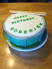 Drum Cake (Bake A Wish) Tags: cake drum september sculpted 2013