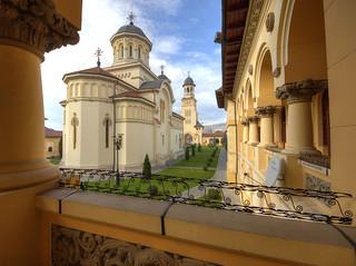 La cathédrale de la Réunification, Alba Iulia