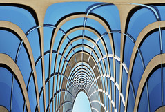city hall wall (warp) (Mr.  Mark) Tags: window glass lines photo pattern cityhall geometry stock warp distort markboucher