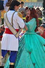 A Christmas Fantasy (jodykatin) Tags: ariel disneyland disney parade thelittlemermaid princeeric achristmasfantasy