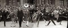 Charleston dance contest (Missouri History Museum) Tags: 1920s men musicians women dancers dancing crowd band charleston photograph flapper tuba 1925 jazzage dancecontest stlouiscityhall mhm:id=n01603