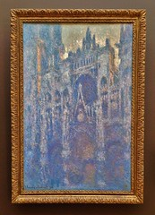 The Portal Of Rouen Cathedral In Morning Light (ArtFan70) Tags: california ca usa art church america painting la losangeles unitedstates cathedral cathdrale monet impressionism getty artmuseum brentwood gettymuseum gettycenter impressionist cathedrale claudemonet thegetty jpaulgettymuseum rouencathedral cathdralenotredamederouen cathedralenotredamederouen theportalofrouencathedralinmorninglight portalofrouencathedralinmorninglight