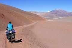 Descending to Laguna Aparejos