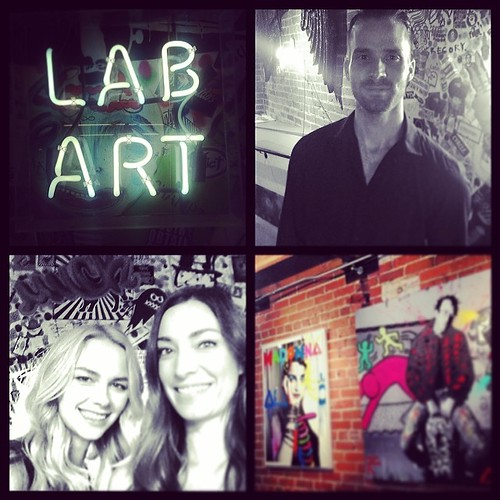 We love Lab Art! #art #losangeles #events #eventlife #bartenders #drinks #labartlosangeles #models #200ProofLA #200Proof