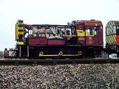 08500 . (steven.barker57) Tags: train track diesel trains class scrap freight 08 ballast shunter ews 08500 11022014