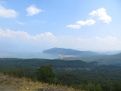 Uitzicht Lake Ohrid