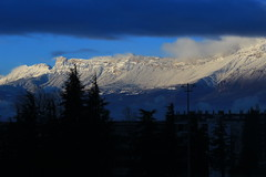 Vercors selection (argilaga) Tags: morning winter sky snow weather clouds grenoble sunrise cool vercors moucherotte troposphere belledonne 600d nohdr echiroles