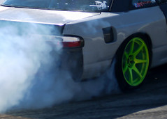 Drifting Day (DonMiller_ToGo) Tags: road car racetrack race racecar catchycolors track limegreen extreme wheels engine fast motor rims quick motorsports motorsport drifting trackday rallycar sportcar gf1