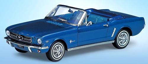 Franklin Mint Mustang 1964½