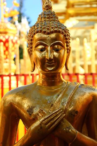 Buddha @ Wat Kringtep, Chiang Mai, Thailand