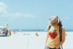 . (S.Yoo) Tags: beach hat rio friend rj janeiro fedora