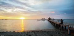 The Colours (Legi.) Tags: sea sun seascape beach sunrise mar nikon playa amanecer vr menor d600 2485mm santiagodelaribera