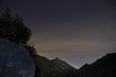 Paissatge nocturn ( alfanhu) Tags: stars noche nightshot estrellas nocturna sella nocturn divino pen penyal peny escaldador