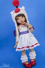 Moguri (Yuzuchan~) Tags: game cute hat ball hearts doll skin tan knit kingdom final fantasy bisou bjd fl kh fairyland ff abjd moguri jointed ltf yosd littlefee godolls