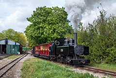 Leaving Page's Park (geoffspages) Tags: railway steam baldwin leightonbuzzard narrowgauge