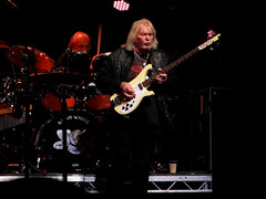 Chris Squire & Alan White (mothclark62) Tags: world show new uk chris white playing rock alan one for allan three al europe european tour allen close theatre britain live album yes stage united gig great group christopher band first kingdom going albums edge oxford tuesday kris april 70s 29 date seventies triple squire kriss wight squier the alun 2014