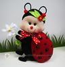 ♥♥♥ Joaninha ... (sweetfelt \ ideias em feltro) Tags: handmade decoration feitoàmão felt ladybug feltro decoração handcraft joaninha déco coccinelle feutrine faitmain