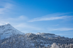 Swiss Alps - Gstaad, Switzerland (bradwendes) Tags: blue party sky cloud mountains alps canon landscape corporate switzerland view swiss events clear event alpine 5d mkiii mk3