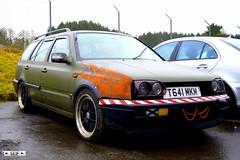 Volkswagen Golf Mk3 Estate East Kilbride 2015 (seifracing) Tags: cars golf volkswagen scotland rat style voiture east vehicles tuning spotting strathclyde ecosse kilbride 2015 seifracing