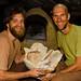 Kory et François et leurs pains plats: il est 22 heures et il est temps d'aller au lit!