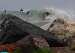 RainySaturdayBarrels (mcshots) Tags: ocean california winter sea usa beach nature water coast surf waves stock surfing socal surfers breakers mcshots swells combers losangelescounty