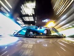 Rolling to the next shoot (WherezJeff) Tags: longexposure motion night edmonton streetlights alberta gopro