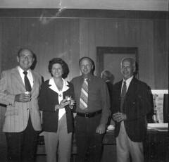 "Pioneers Spring Meeting 1975-Hugh Bochman, Marion Jones, Bob Mattson, R.W. Jones <a style=""margin-left:10px; font-size:0.8em;"" href=""http://www.flickr.com/photos/130192077@N04/16410732622/"" target=""_blank"">@flickr</a>"
