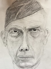 Lee Marvin sketch, adjusted (gnawledge wurker) Tags: pencil sketch drawing