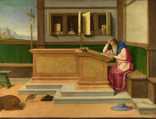 Vincenzo Catena - Saint Jerome in his Study [c.1510]