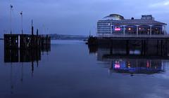 Cardiff Bay Dusk (Dave_Davies) Tags: restaurant bay cardiff quay mermaid penarth bosphorus stdavidshotel