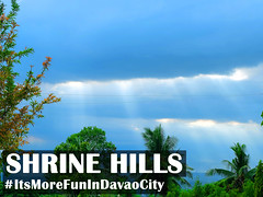 Shrine Hills - Clouds & Light (itsmorefunindavaocity) Tags: light sky tourism clouds asia philippines shining davao mindanao davaocity itsmorefunindavaocity