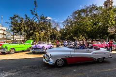 Classic Taxis, Havana, Cuba (Rui P Baio) Tags: travel panorama tourism latinamerica landscape island tour angle cuba wide wideangle panoramic traveller communism spanish fidel latin northamerica caribbean che latino cuban revolucion guevara caribe