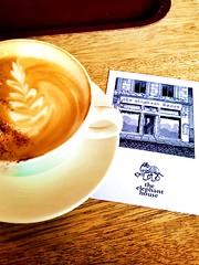The Elephant House, Edinburgh, Scotland (orlaithnimhurchu) Tags: coffee scotland cafe edinburgh harrypotter cappuccino theelephanthouse thebirthplaceofharrypotter