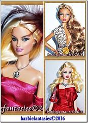 Barbie Collage (BarbieFantasies) Tags: marlene solange latoya barbiecollage