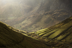 Afternoon light in Hengwm (Nick Livesey Mountain Images) Tags: